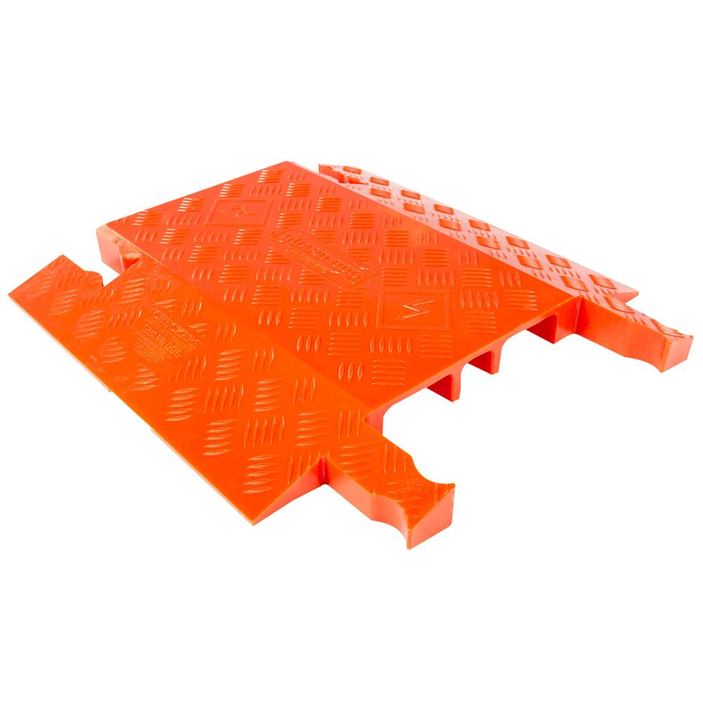 GD3-DO-O 3-Channel Drop-Over Guard Dog Cable Protector for 1325 Diameter Cables - Orange
