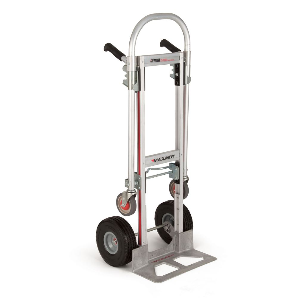 GMK16UAC Magliner Aluminum Convertible Hand Truck with Double Grip Handle and Microcellular Wheels