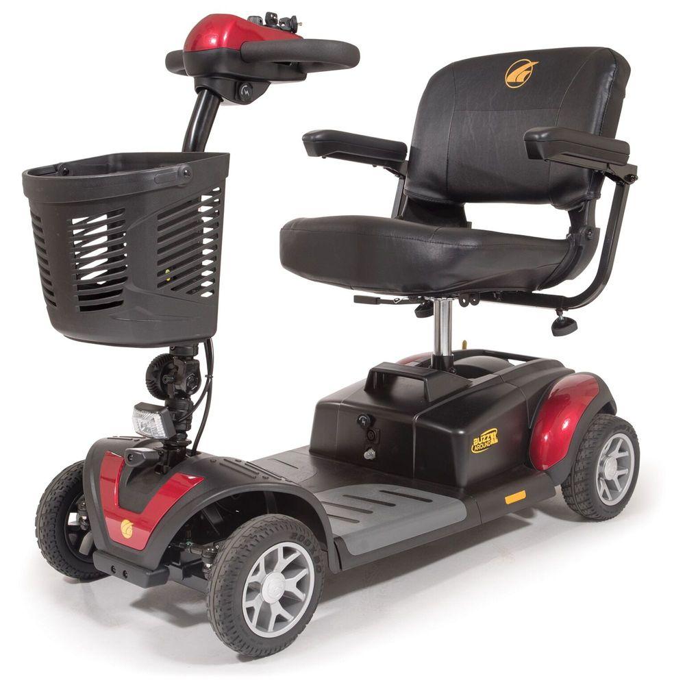 GT-GB147D Golden Technologies Buzzaround XL Four-Wheel Mobility Scooter