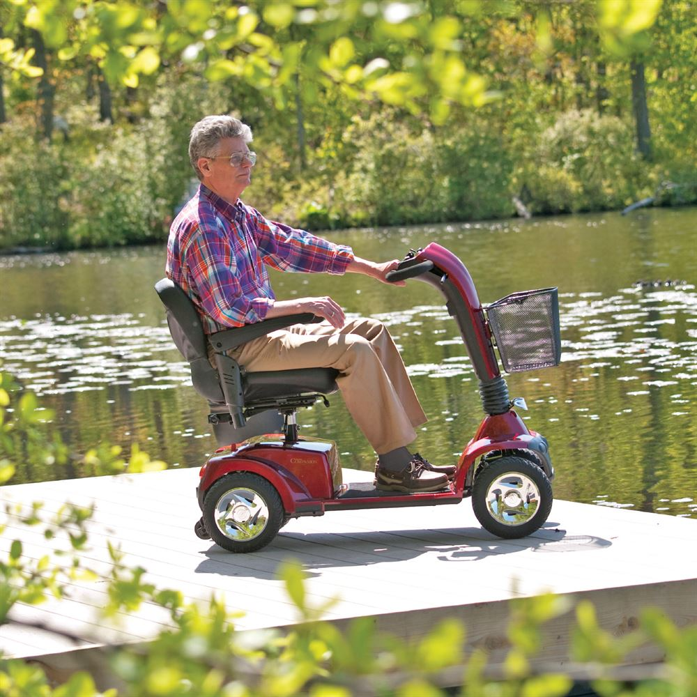 Golden Technologies Companion Four-Wheel Full-Size Mobility Scooter
