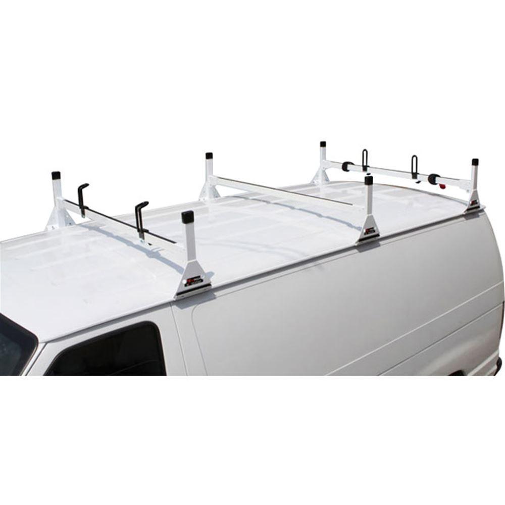 H1-FORD-ECONOLINE-FULLSIZE Vantech Steel Van Rack for Ford Econoline 1975-2013