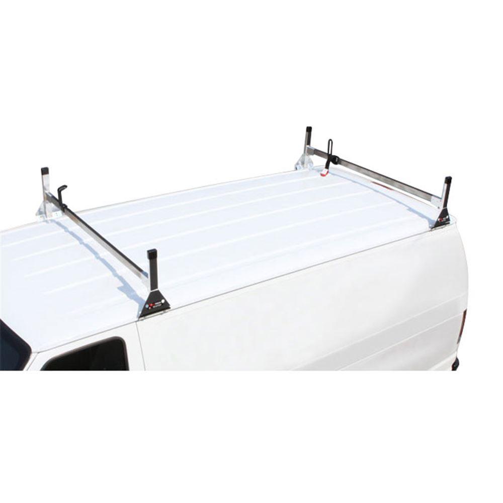 H1-GMC-RALLY-WAGON-FULLSIZE-SS Vantech Stainless Steel GMC Rally Wagon Ladder Racks