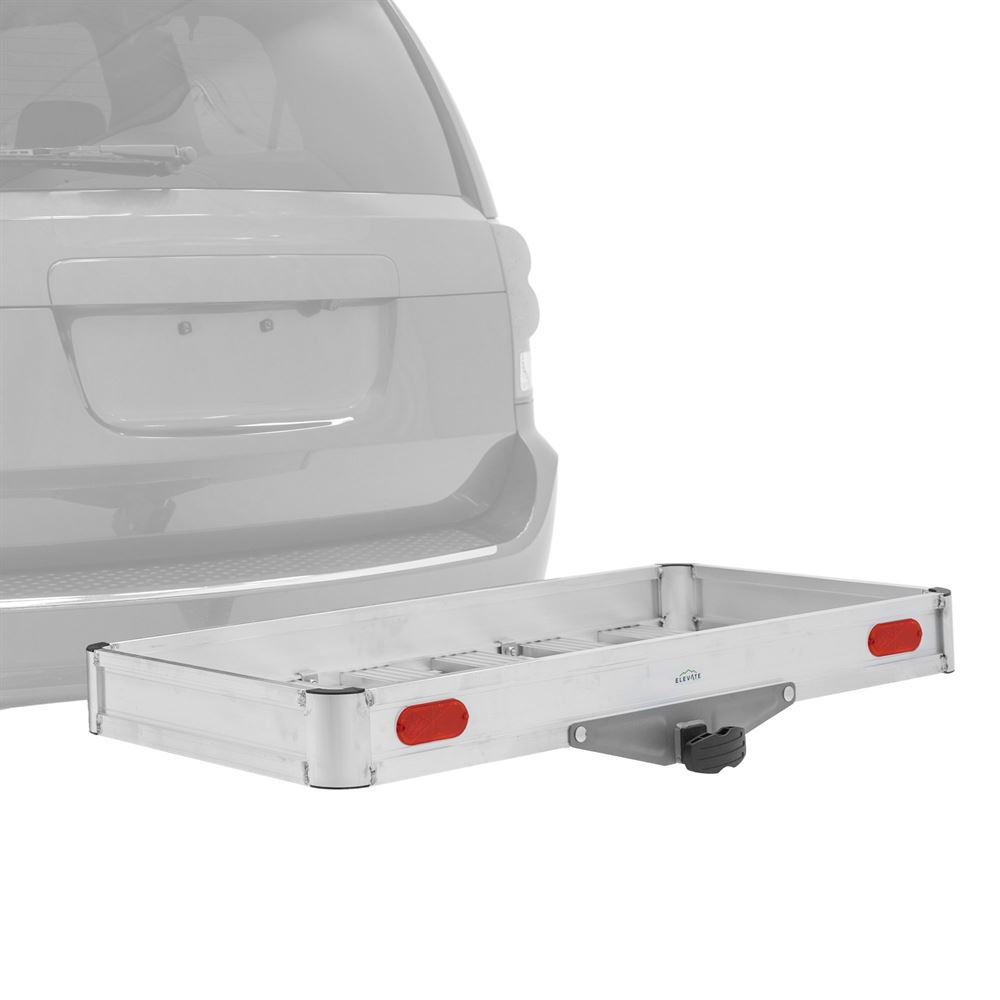 HCCA-FOLDING Elevate Outdoor Folding Aluminum Tray Premium Cargo Carrier