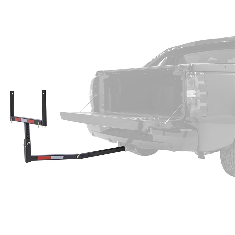 HITCH-EXT Elevate Outdoor Adjustable Hitch Mounted Truck Bed Extender