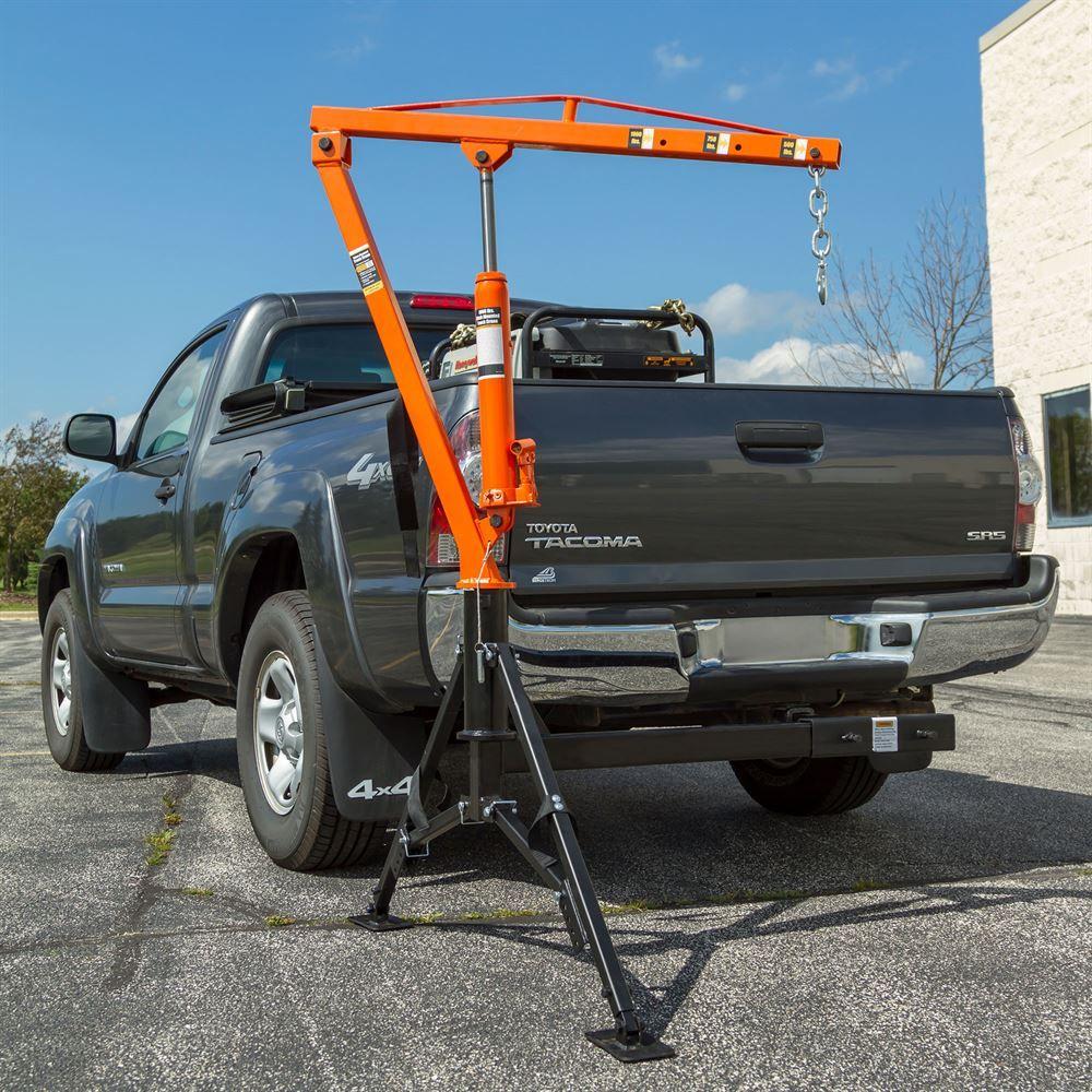 Receiver Hitch Crane By Apex 1 000 Lb Capacity Hmc