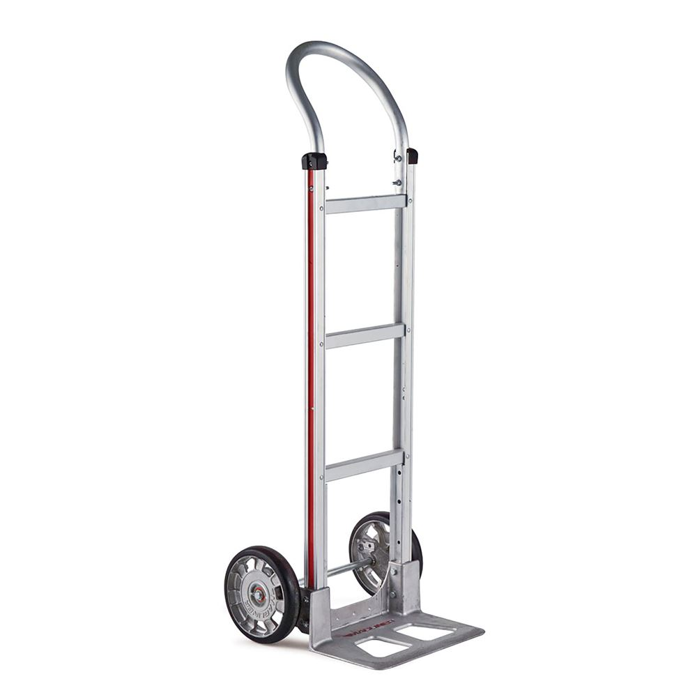HMK111AA1 Magliner Aluminum Hand Truck with Standard Loop Handle and 8 Rubber Wheels