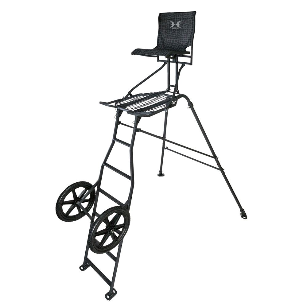 Hawk Transformer 6.5' Hunt-Pod Stand and Cart
