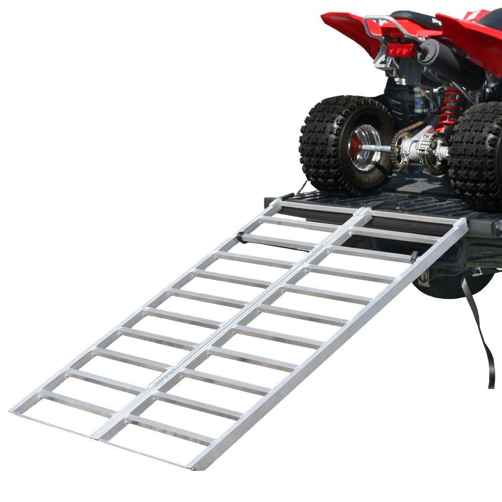 "Aluminum Atv Ramps >> Aluminum Extra-Wide Bi-Fold ATV Ramp - 5'11"" Long | Discount Ramps"