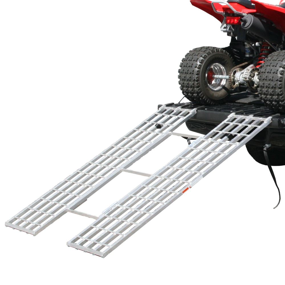 ITF-7151 Black Widow Aluminum Extra-Wide Tri-Fold ATV Ramp