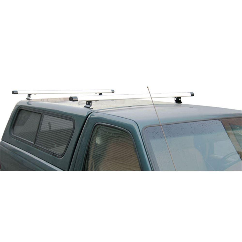 J1032B Black 50 Aluminum Universal Pickup Topper J1000 Ladder Roof Rack