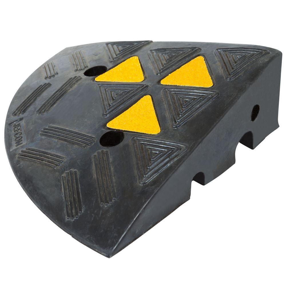 KER30R 12 L x 12 W - Guardian Rubber Curb Ramp End