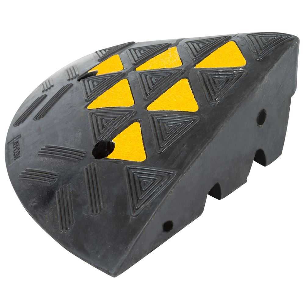 KER36R 14 L x 14 W - Guardian Rubber Curb Ramp End
