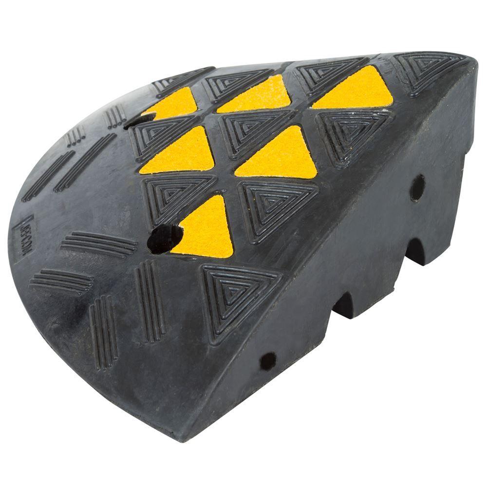 KER36R 14 L x 14 W - Guardian Rubber Curb Ramp End