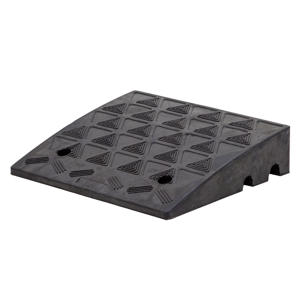 KR01 16-12 L x 19 W - Guardian Solid Rubber Curb Ramp