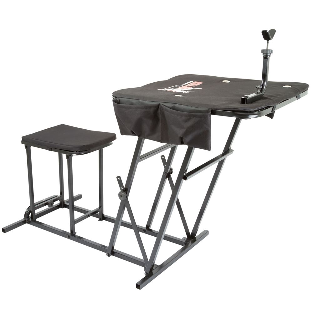 Kill Shot Portable Shooting Bench with Gun Rest