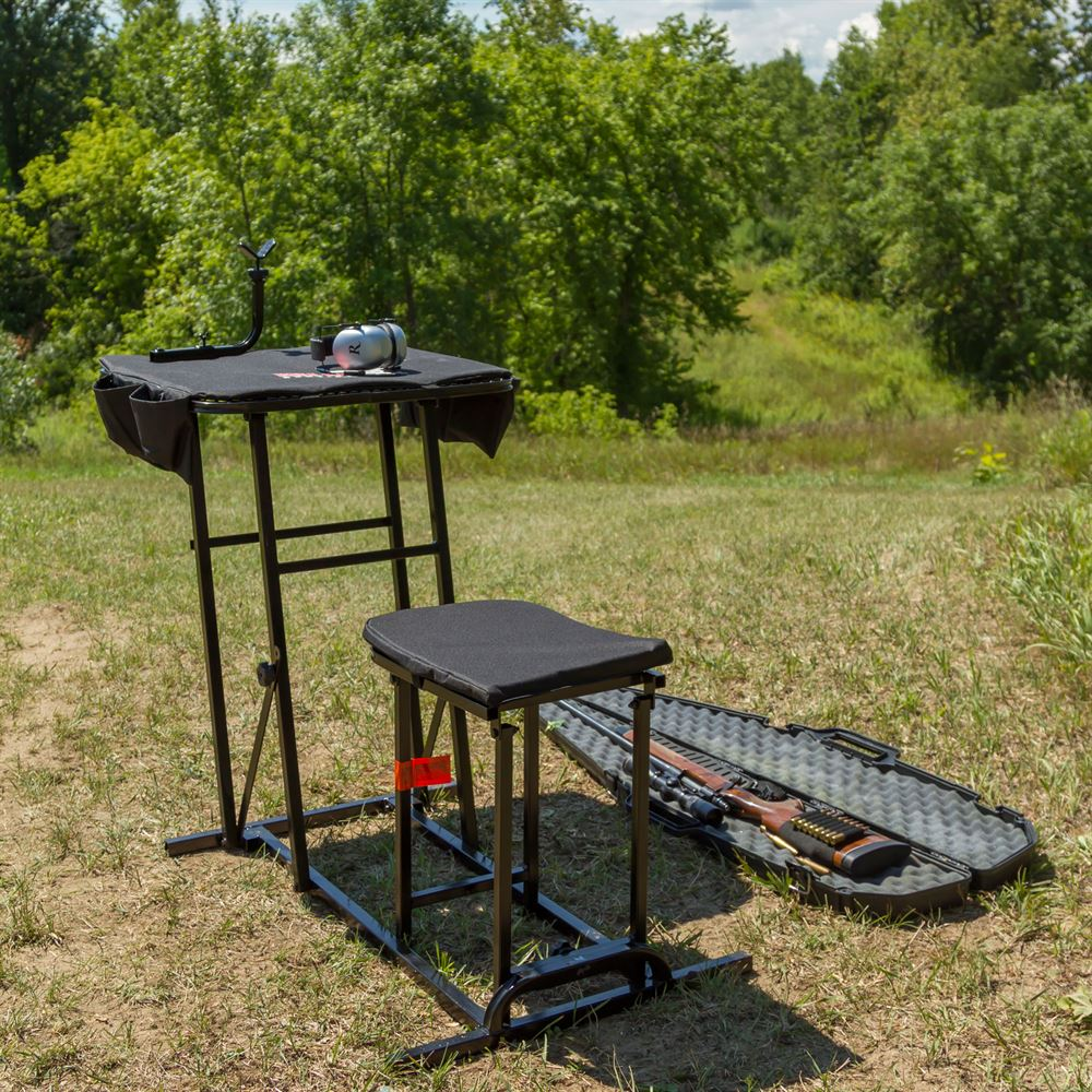 Kill Shot Portable Shooting Bench With Gun Rest Discount Ramps