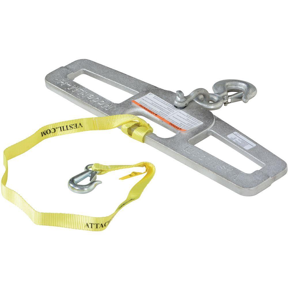 LM-HP6-R Vestil Rigid Lift Master Hook Plate - 6000 lb Capacity