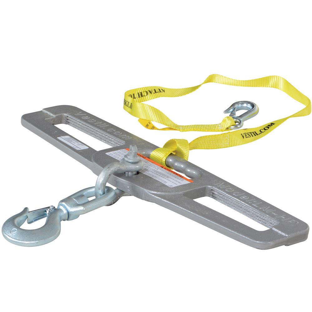 LM-HP6-S Vestil Swivel Lift Master Hook Plate - 6000 lb Capacity