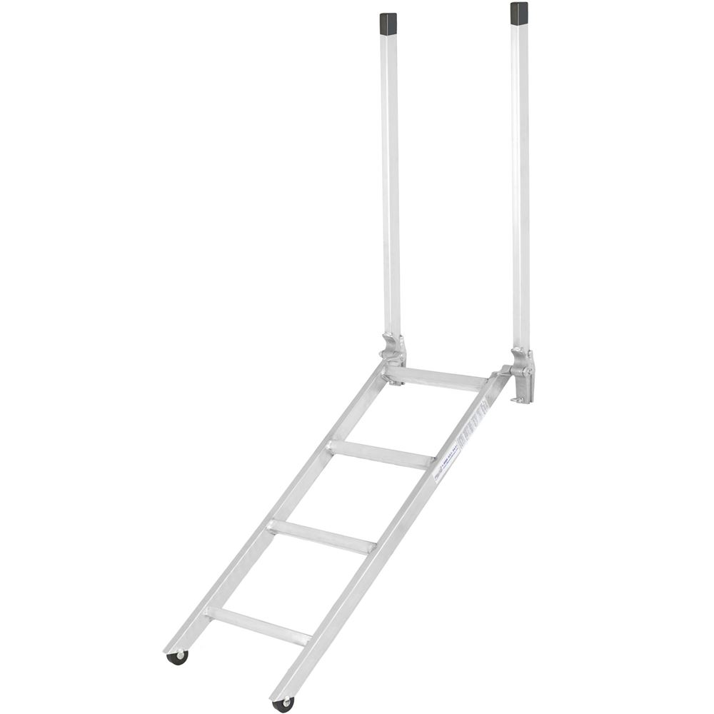 Ladder-16-48 48 EZ Deck Semi-Trailer Step Ladder for 28 to 42 Deck Heights