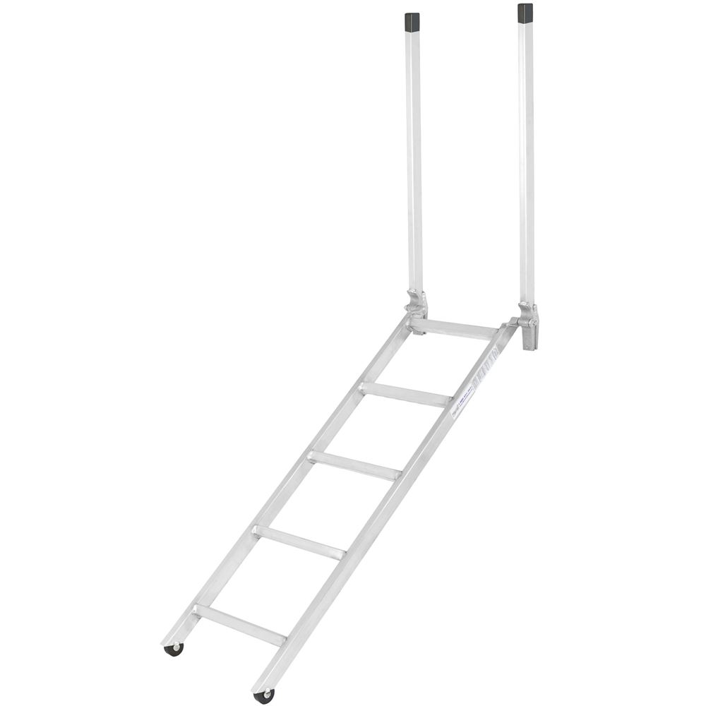 Ladder-16-60 60 EZ Deck Semi-Trailer Step Ladder for 48 to 52 Deck Heights