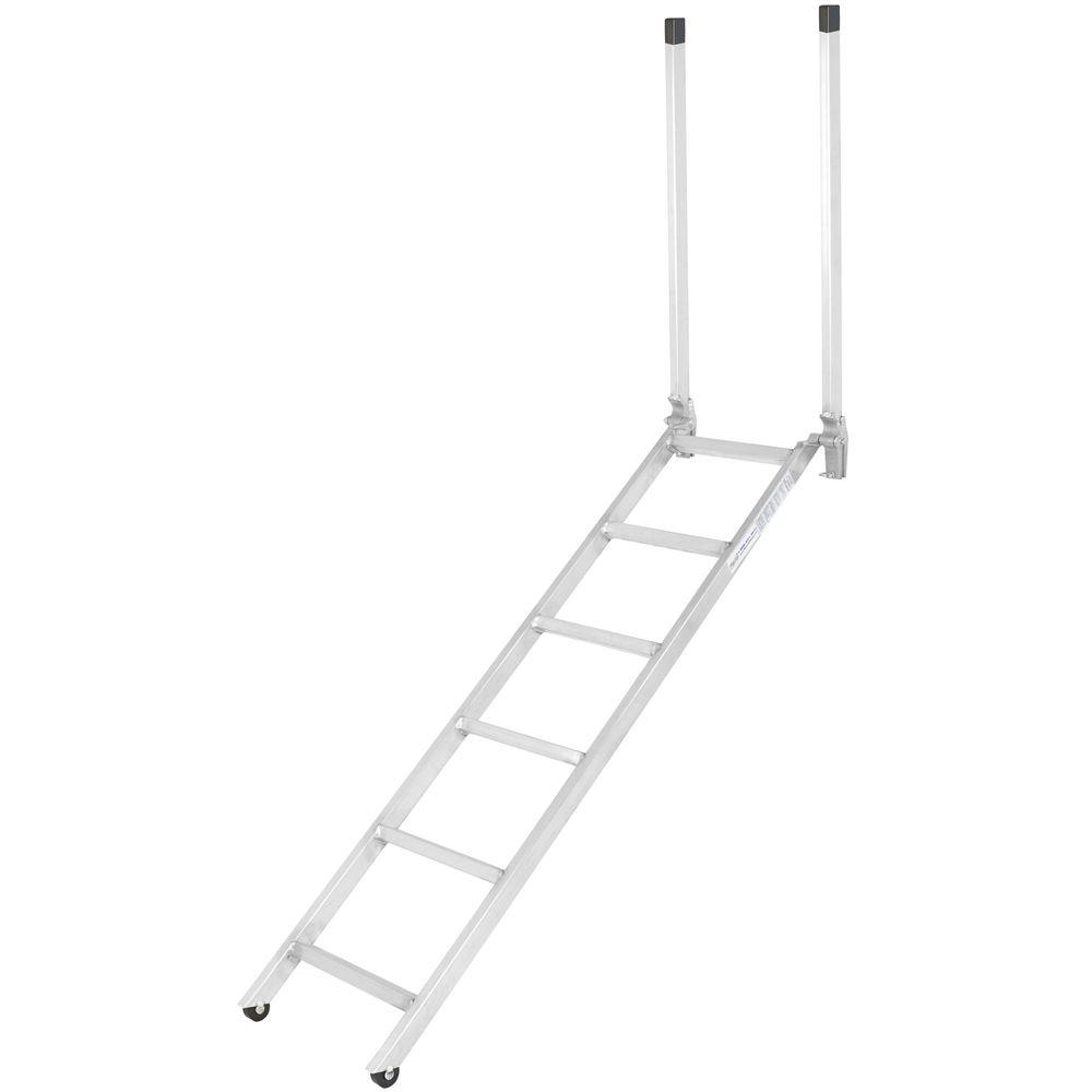 Ladder-16-72 72 EZ Deck Semi-Trailer Step Ladder for 54 to 66 Deck Heights