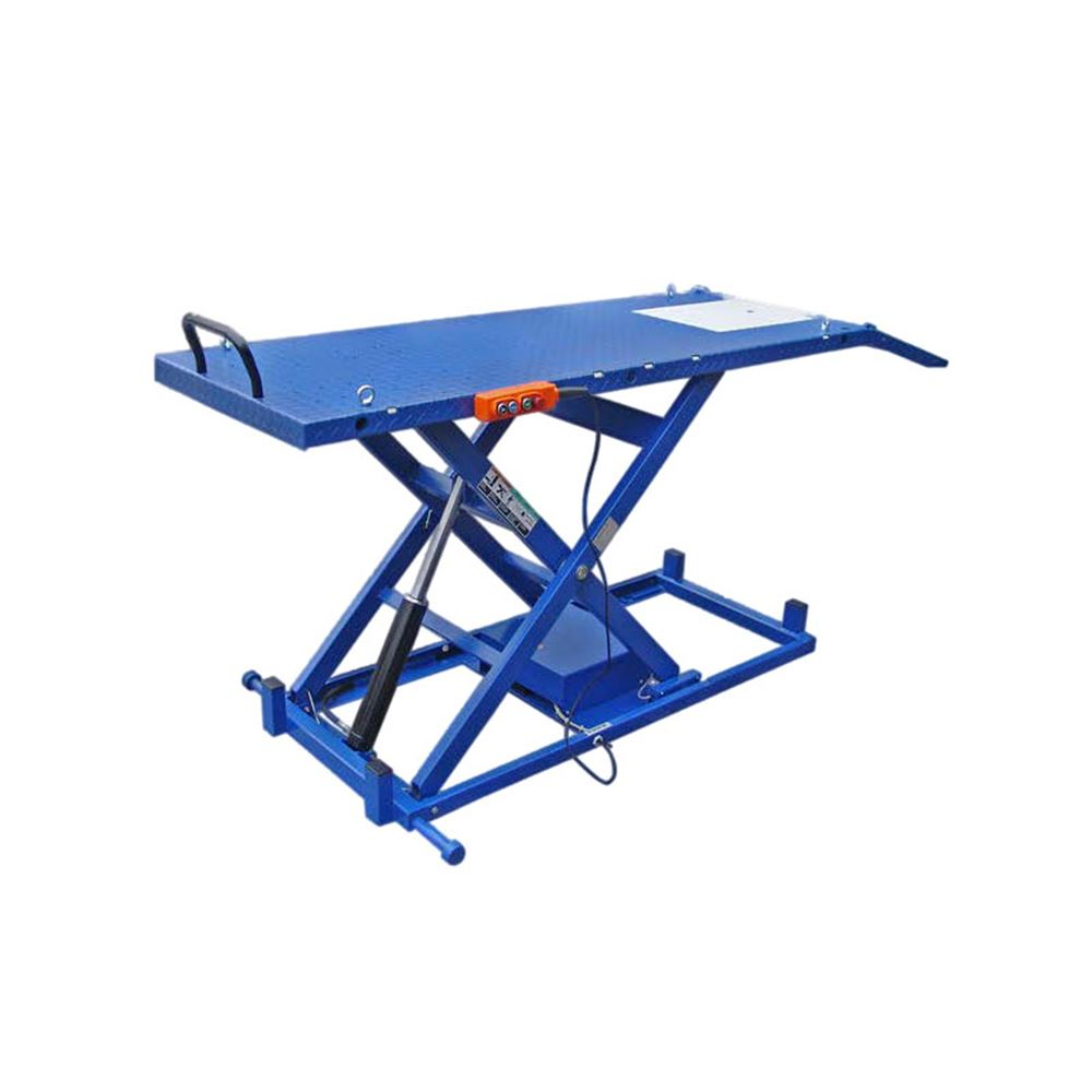bishamon industries battery operated mobilift scissor lift