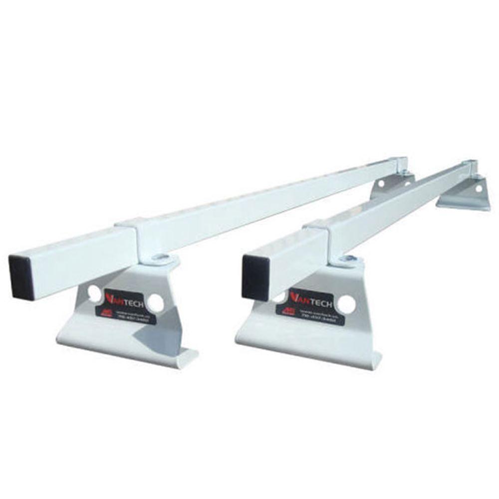 M1010W White 60 W Steel Universal Pickup Topper M1000 Ladder Rack