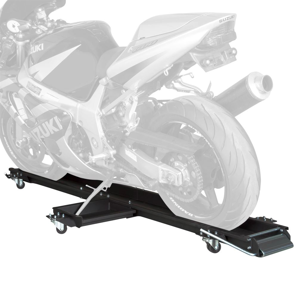 MC-DOLLY Black Widow Steel Sport Bike  Motorcycle Dolly - 1250 lbs Capacity