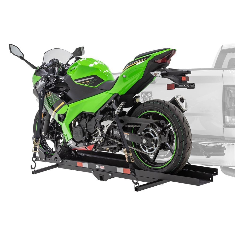 MCC-600 Black Widow Heavy Duty Steel Motorcycle Carrier  600 lb Capacity