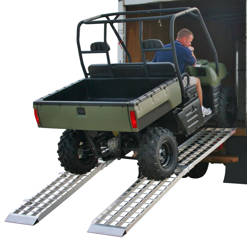 Atv Truck Ramps >> Big Boy Aluminum 4 Beam Folding Dual Runner Atv Ramps Discount Ramps