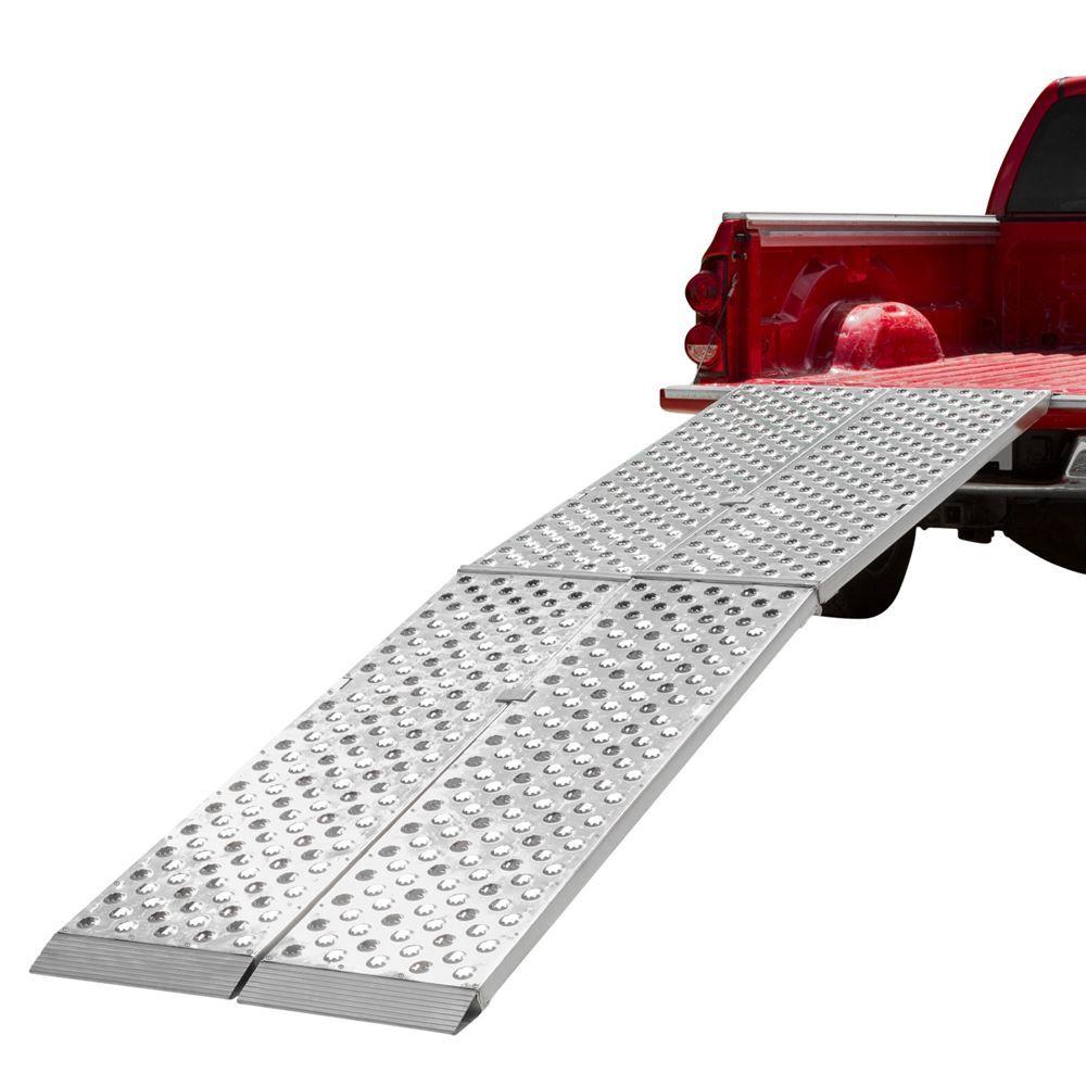 Aluminum Folding Ramps >> Big Boy Ez Rizer Aluminum 2 Piece Folding Motorcycle Ramp 8 To 12
