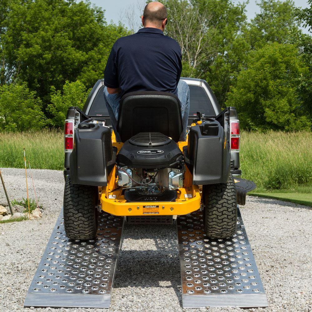 Big Boy Aluminum Extra Wide Folding Dual Runner Lawn Mower