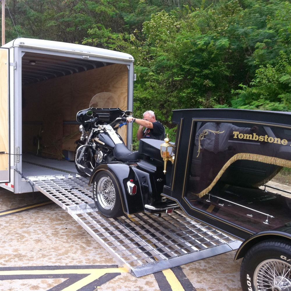 MF3-AMR Big Boy Aluminum Folding 3-Piece Trike and Motorcycle Ramp 1