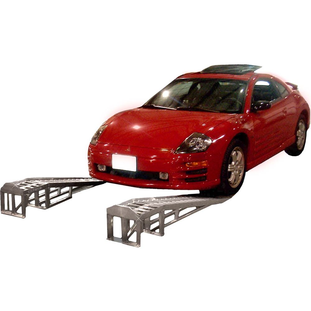 ML-1066 Mini-Lift Aluminum Low Profile Car Service Ramps - 1500 lb per axle Capacity