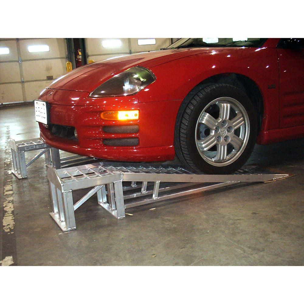 Mini-Lift Aluminum Low Profile Car Service Ramps