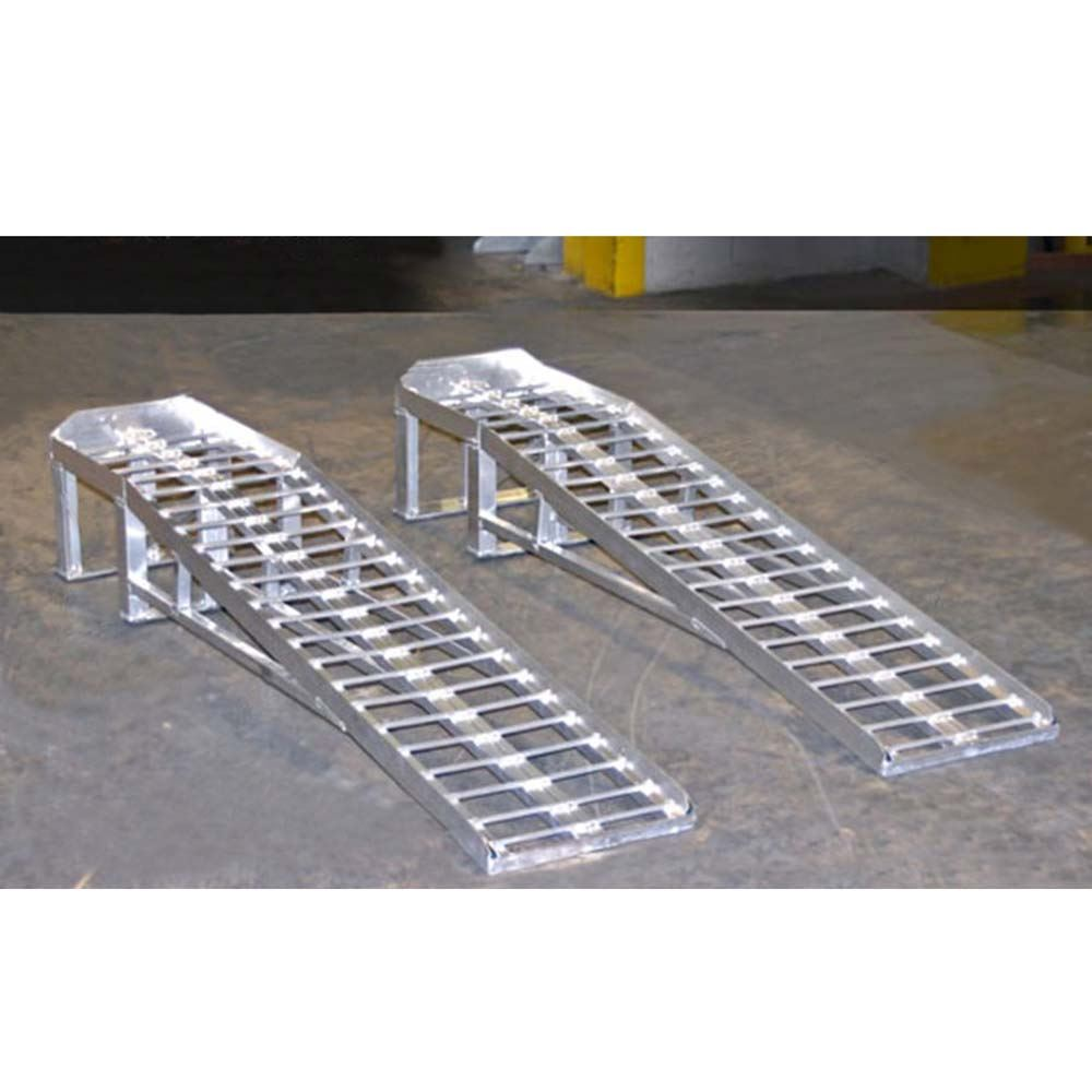 Mini Lift Aluminum Low Profile Car Service Ramps 3 000