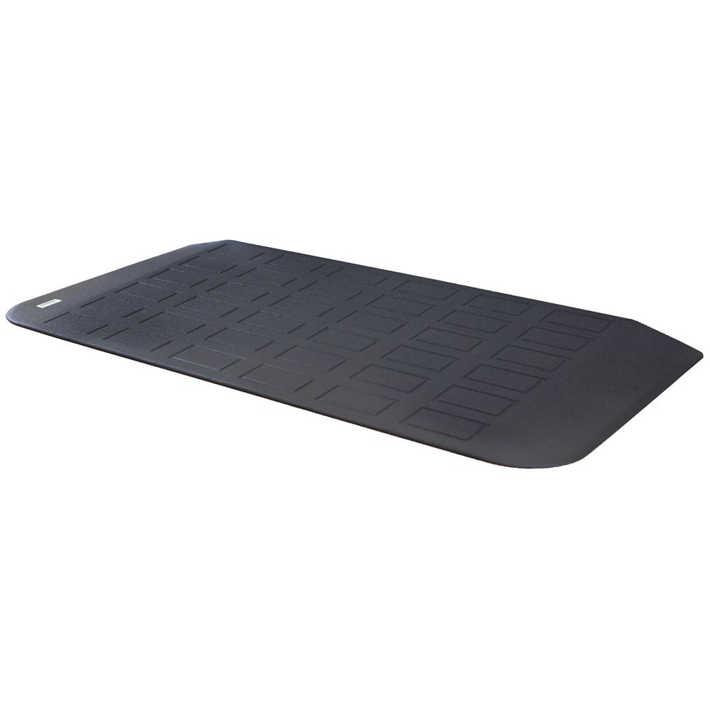 MRAEZ1510 22 L x 45-34 W x 1-34 H - SafePath EZ Edge Transition Rubber Threshold Ramp - ADA Compliant