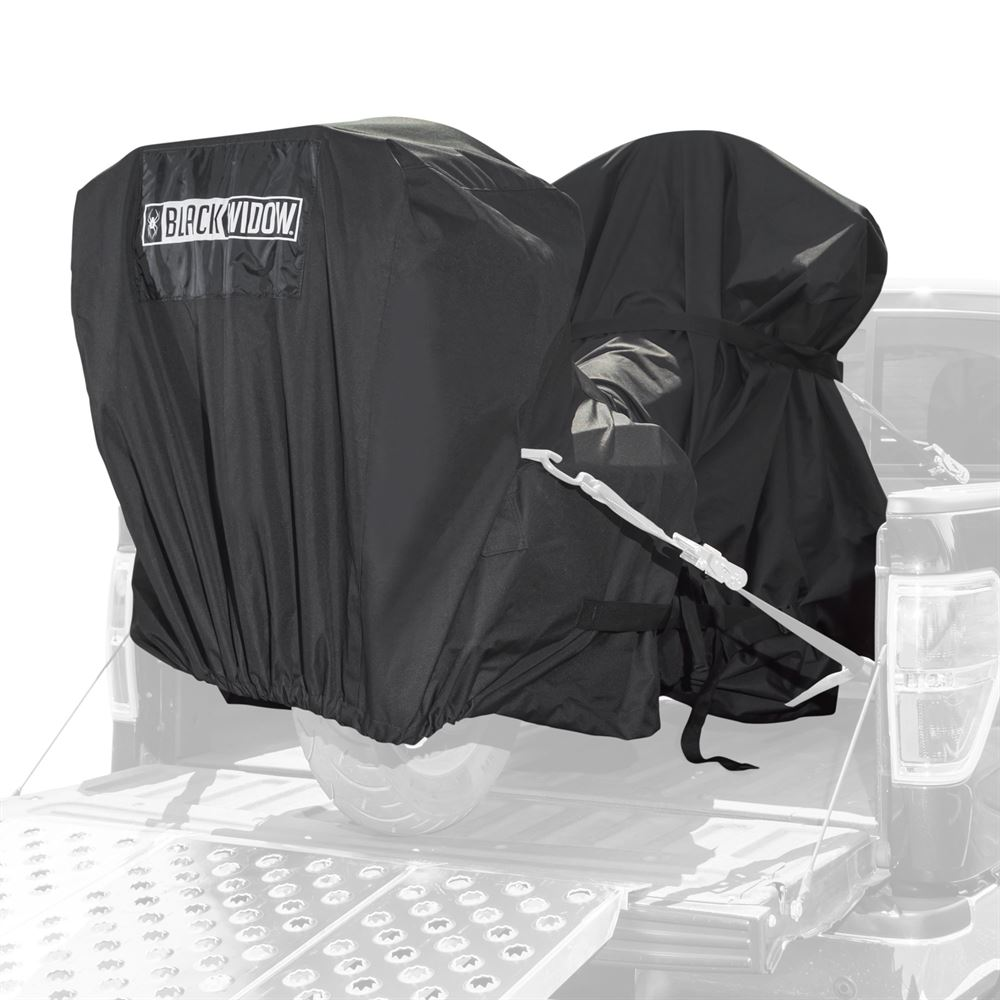 MTC Black Widow Trailerable Full Dresser Motorcycle Cover