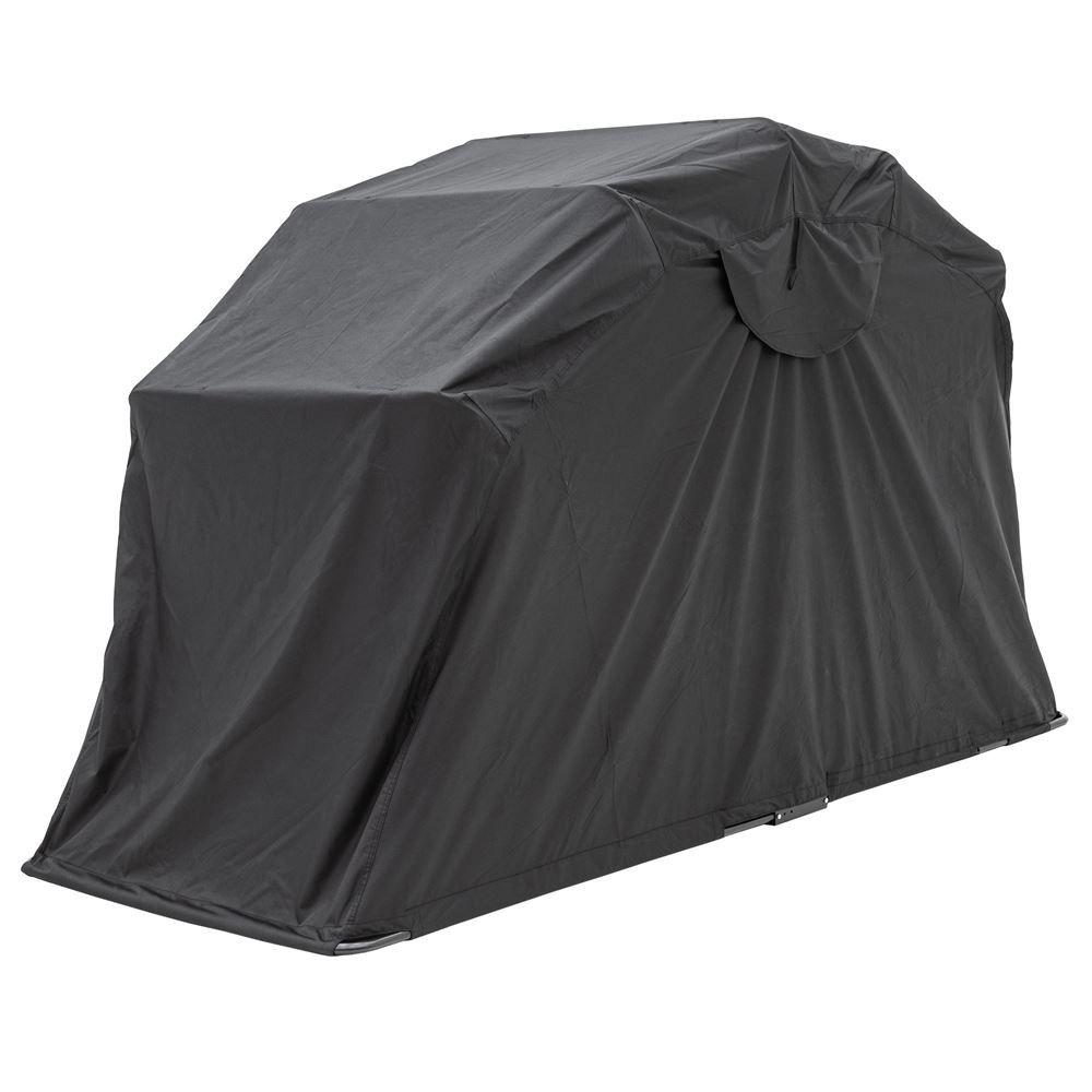 MTS01-S Black Widow Water-Repellent Flip-Over Motorcycle Tent