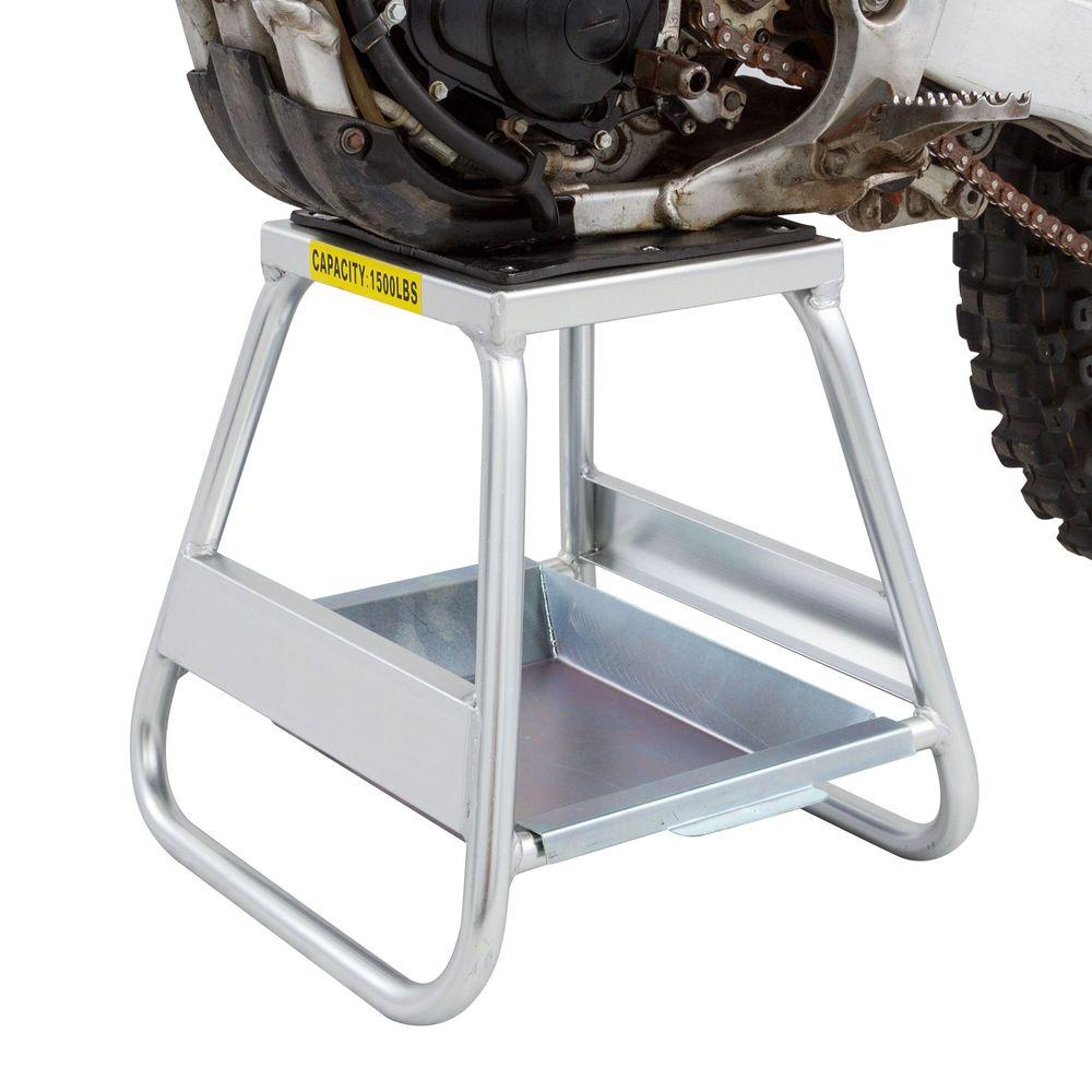 Black Widow Aluminum Motocross Dirt Bike Stand 1 500 Lbs