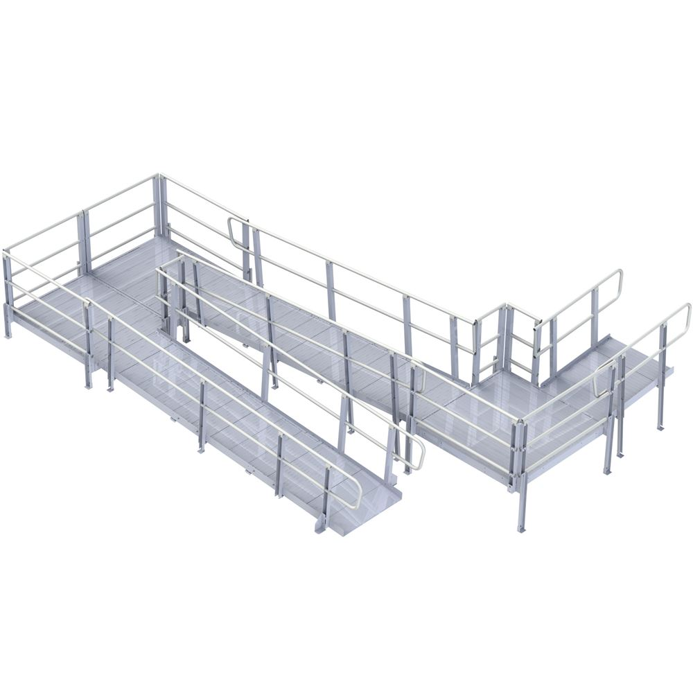 Mod-XP-Stair PVI Modular XP Aluminum Ramps - Stairs