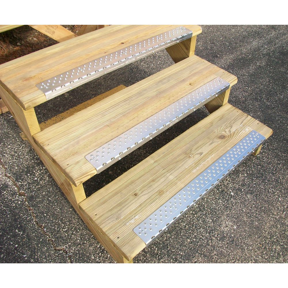 NSN Handi-Ramp 30 x 2-34 Non-Slip Stair Tread with Nosing