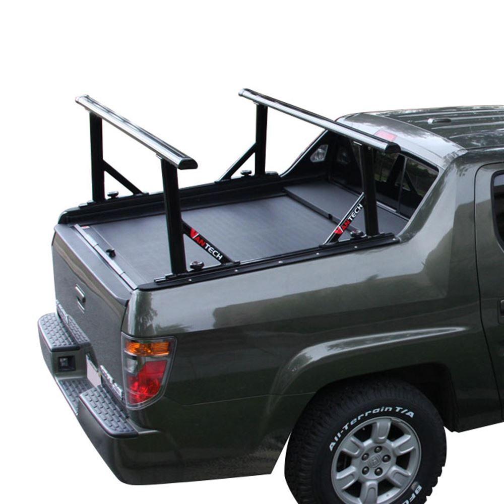 Truck Pipe Rack >> Black Aluminum 65 Honda Ridgeline Ladder Rack