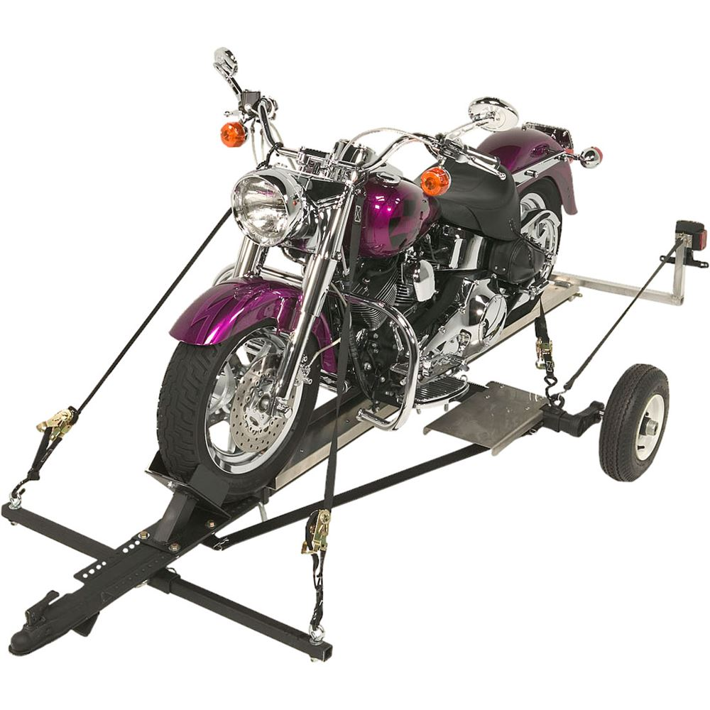 Port-a-Chopper Motorcycle Trailer with Galvanized Frame - 1,200 lb ...
