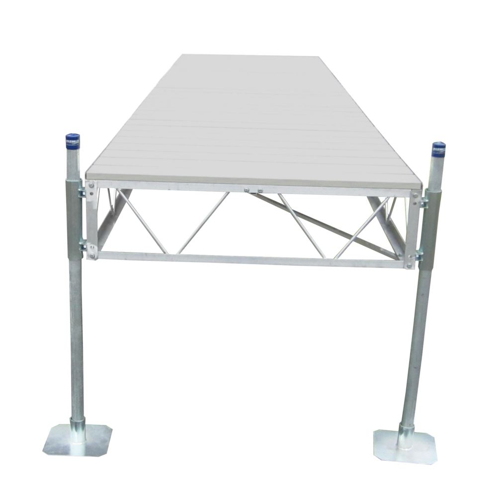 PD-105SDAD Straight Dock with Aluminum Decking