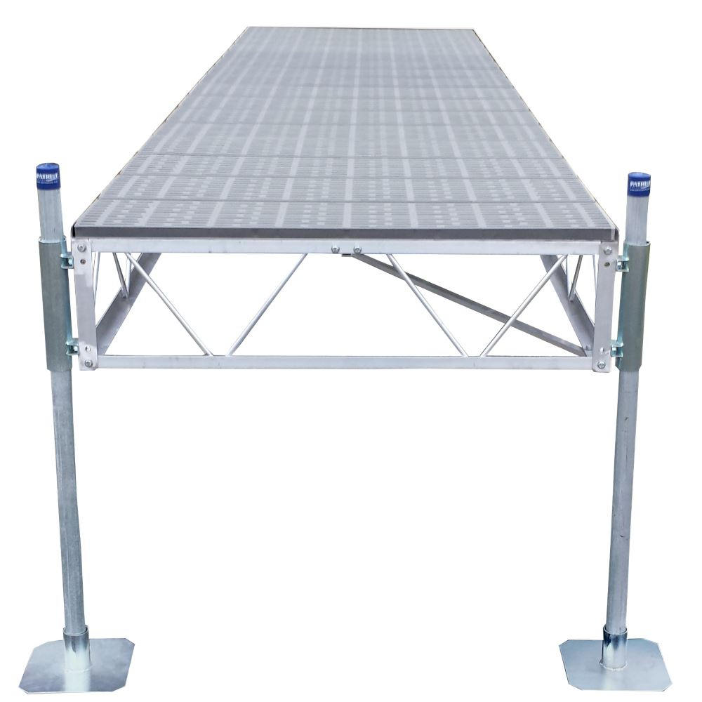 PD-105SDPD Straight Dock with Poly Decking