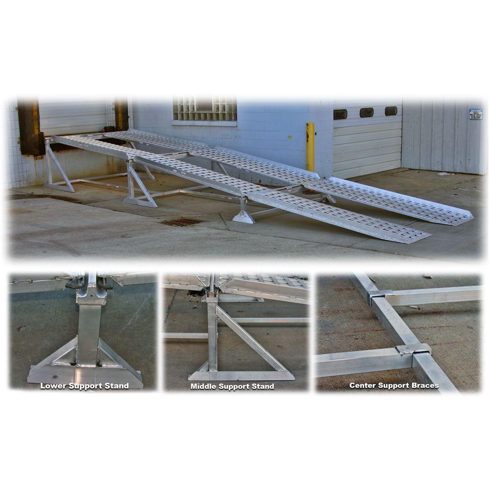 PRTBL-DOCK-RMP Portable Aluminum Modular Dock Ramp System 3