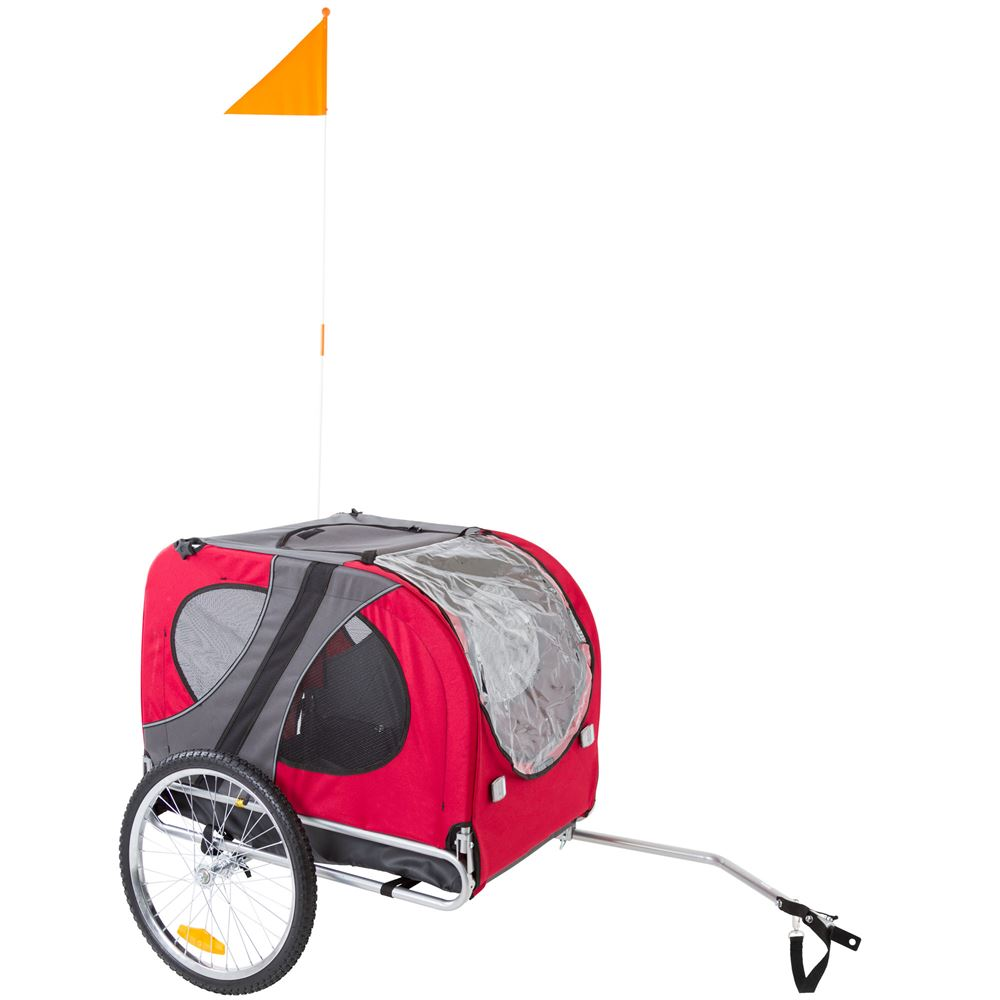 PT-10117-R Lucky Dog Pet Bike Trailer 1