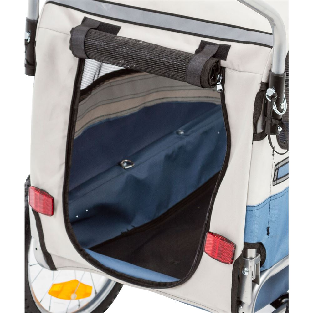 Lucky Dog Pet Bicycle Trailer Stroller Discount Ramps