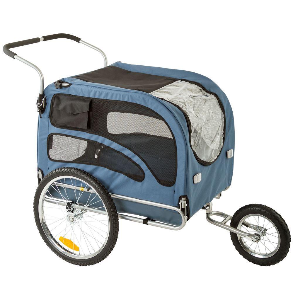 Lucky Dog Bike Trailer/Stroller Combo